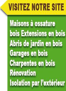 Constructeur de maisons à ossature bois situé dans le Loiret (45)