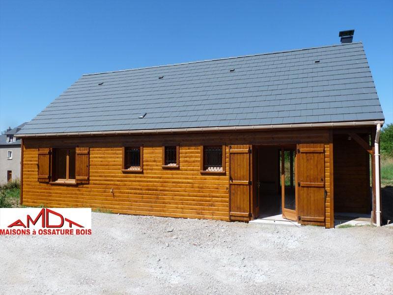 Amdt constructeur de maisons ossature bois loiret 45 for Constructeur de maison loiret